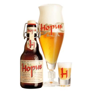 Coffret de bière HOPUS, ( 2 bouteilles, 1 verre Hopus et 1 shooter Hopus) (Coffret de bière)