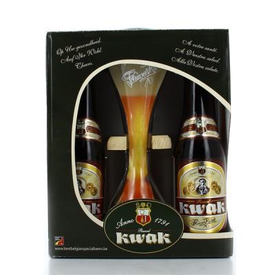 Coffret biere belge KWAK Bouteilles