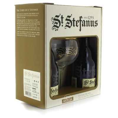Coffret St Stefanus 2x33cl. et 1 verre (Coffret de bière)