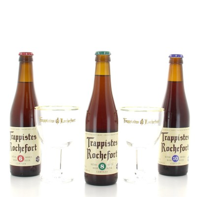 Coffret de bières Rochefort