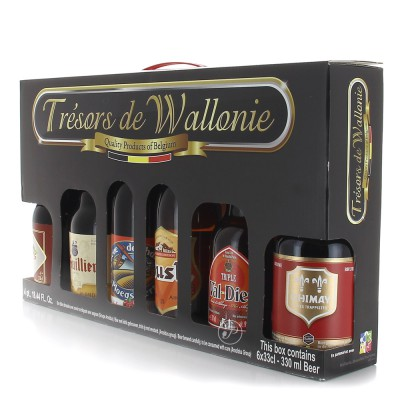 Coffret de bière Trésors de Wallonie