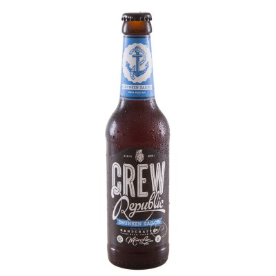 Bouteille Crew Republic - Drunken Sailor IPA - 33cl