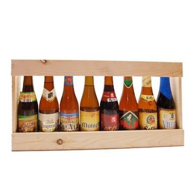 Demi metre de biere belges 33 cl