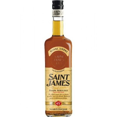 Rhum Saint James Royal Ambre - 70cl