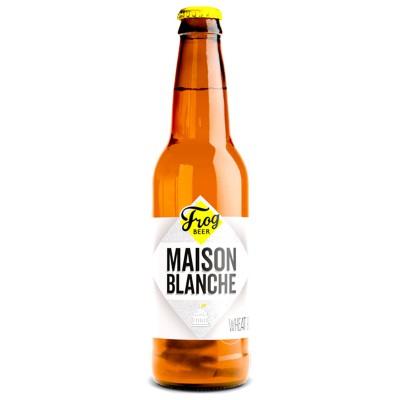 Bouteille de bière Frog - Maison Blanche - 33cl