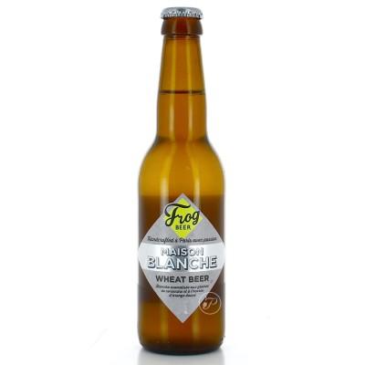 Bière Frog - Maison Blanche - 33cl (Bouteille de bière)