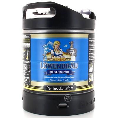 Fut biere LOWENBRAU Oktoberfest Perfectdraft 6L