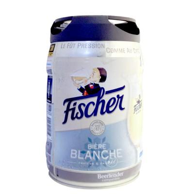 Fût de bière blanche FISHER Beertender 5L (Futs de bière)