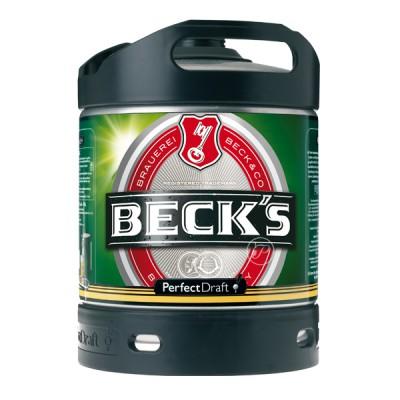 Fut bière BECK'S PILS Perfectdraft 6L (Futs de bière)