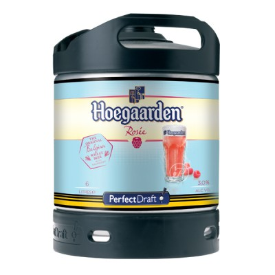 Fut bière HOEGAARDEN Rosée Perfectdraft 6L