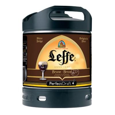Fut bière Abbaye Leffe brune perfectdraft 6L (Futs de bière)