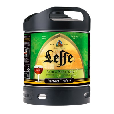 Fut bière LEFFE de Printemps Perfectdraft 6L