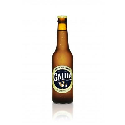 Bouteille de bière Gallia Hefeweizen 33cl