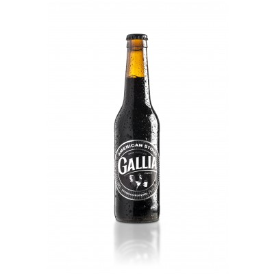Bouteille de bière Gallia American Stout 33cl