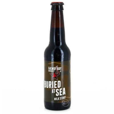 Bière Galway Bay - Buried at Sea Stout - 33cl (Bouteille de bière)