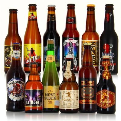 Bières pour Halloween (Bouteille de bière)