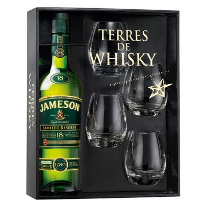 Coffret Jameson 18 ans - Limited Reserve