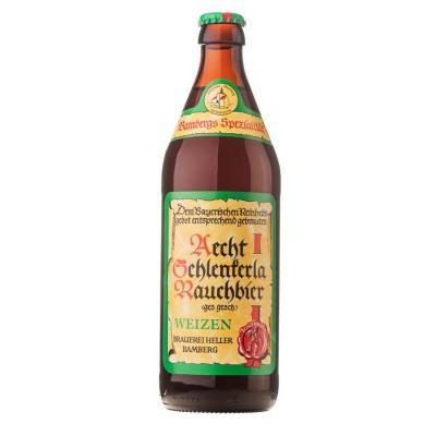 Bouteille de bière SCHLENKERLA RAUCHWEIZEN 5.2° VC50CL
