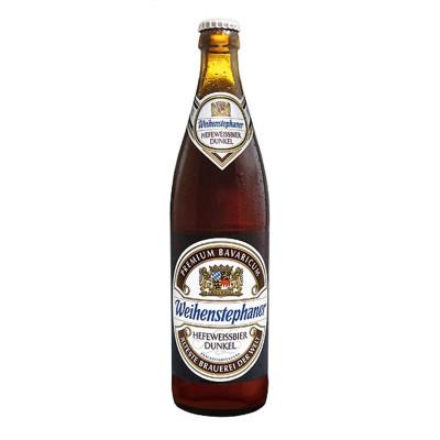 Bouteille de bière Weihenstephan Dunkel 5.3°