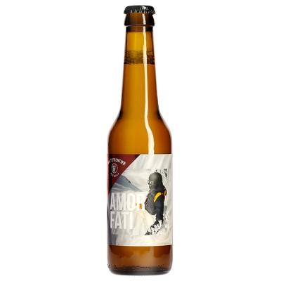 Bouteille de bière WHITE FRONT. AMOR FATI 6.5° VP33CL