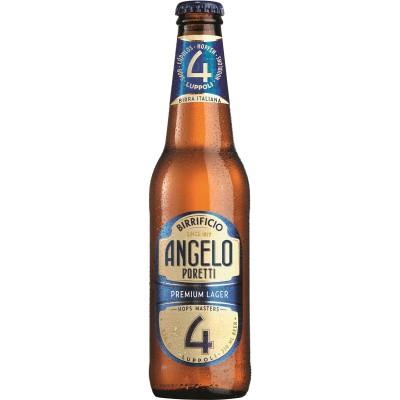 Bouteille de bière PORETTI 4 LUPPOLI 24X33CL VP