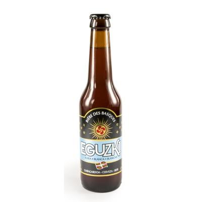 Bouteille de bière EGUZKI BLANCHE 4.7° VP33CL