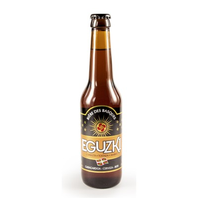 Bouteille de bière EGUZKI AMBREE 6° VP33CL