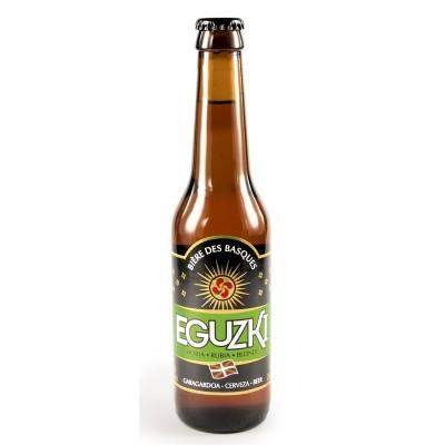 Bouteille de bière EGUZKI BLONDE 5.5° VP33CL