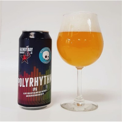 Bouteille de bière GALWAY BAY BEAVERTOWN NEIPA 7° BOITE 44CL