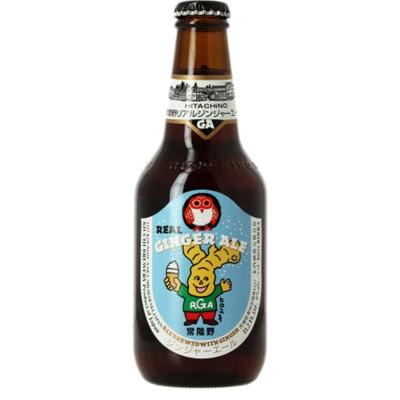 Bouteille de bière HITACHINO NEST GINGER ALE 8° VP33CL