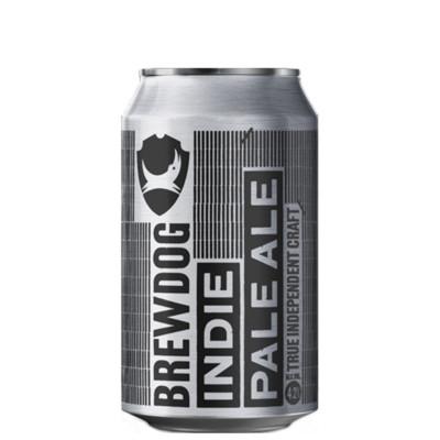 Bouteille de bière BOITE BREWDOG INDIE PALE ALE 4.2° 33CL