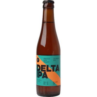Bouteille de bière BRUSSELS BEER PROJECT DELTA IPA 6.5° VP33CL