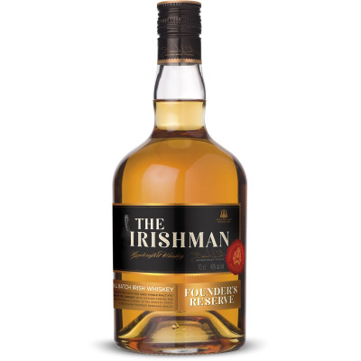 Whisky Irishman Founders reserve 40° 70cl.