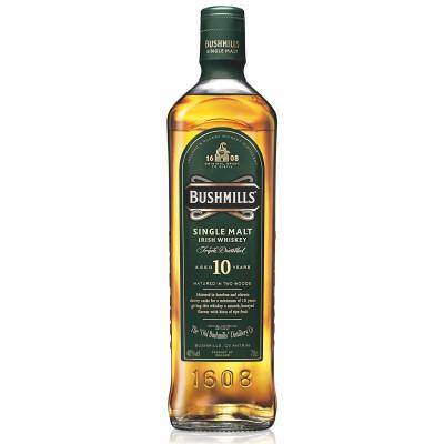 Whisky Bushmills 10ans 40° 70cl.