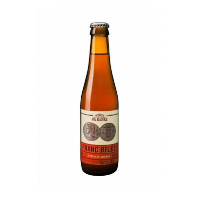 Bouteille de bière DE RANKE FRANC BELGE 5.2° VC24X33CL
