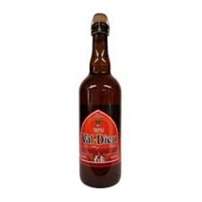 Bouteille de bière VAL DIEU TRIPLE 9°