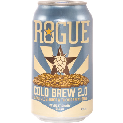 Bouteille de bière ROGUE COLD BREW 5.6° BOITE 35.5