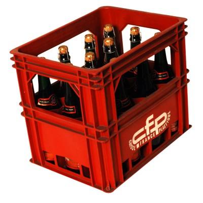 Bouteille de bière Jenlain ambrée 7,5°