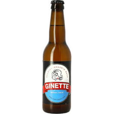 Bouteille de bière GINETTE BIO BLANCHE 5° VP33CL