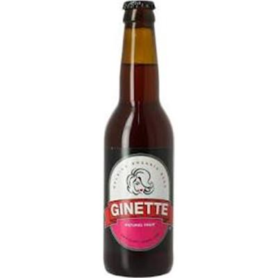 Bouteille de bière GINETTE BIO FRUIT 4° VP33CL