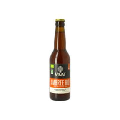 Bière Vivat Ambrée Bio - 33cl