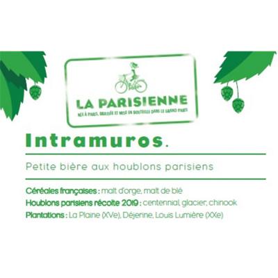 Bouteille de bière LA PARISIENNE INTRAMUROS 4° VP33CL