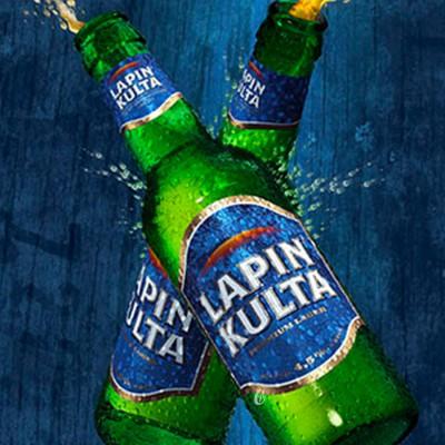 Bière de Finlande Lapin Kulta 33cl (Bière)