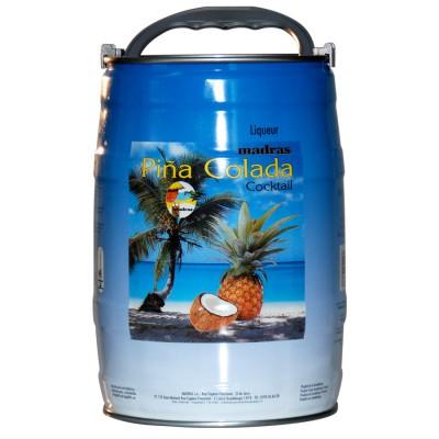 Fut de Rhum Pina Colada de Guadeloupe Madras