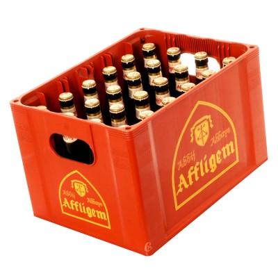 Bouteille de bière Affligem brune 6.8°