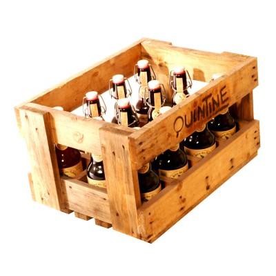 Bouteille de bière Quintine ambrée 8.5°