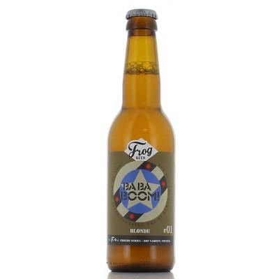 Bouteille de bière FROG BABABOOM 4.3°