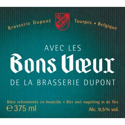 Bouteille de bière BONS VOEUX MOINETTE 9,5°