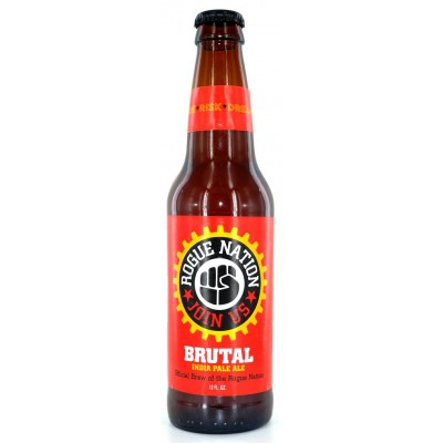 Bouteille de bière ROGUE BRUTAL IPA 6.3° VP65