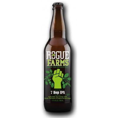 Bouteille de bière ROGUE 7 HOP IPA 7.8° VP65